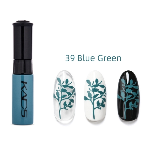 Nail Stamp Polish 10ml Blue Green