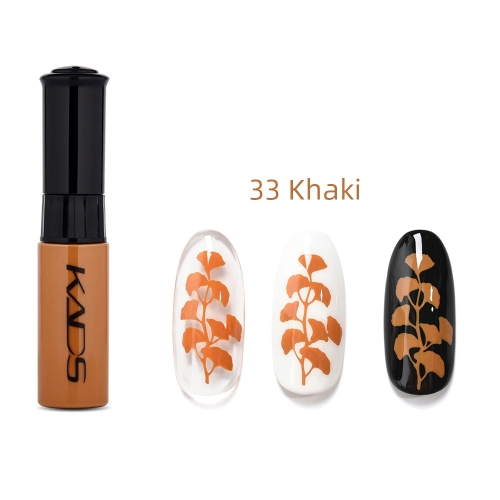 Nail Stamp Polish 10ml Khaki