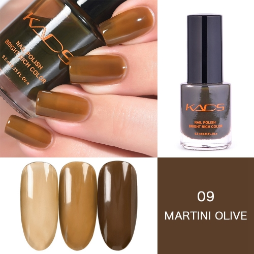 Saddle Brown Gradually Translucent Nail Polish 9.5ml