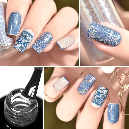 Nail Sticker Foil Transfer Glue Gel