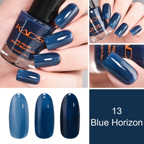 Classic Blue Translucent Nail Polish 9.5ml