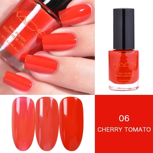 Red Layers Gradually Crystal Nail Polish