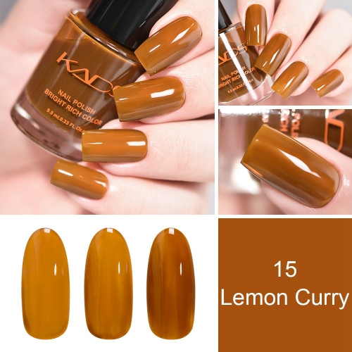 Nail Polish 9.5ml Caramel Brown DIY Nail Art Supplies