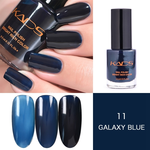 Layers Translucent Nail Polish Galaxy Blue Professional Nail Supplies
