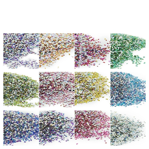 Drop Shaped Nail Rhinestone 500Pcs/Pack Single Color 200020
