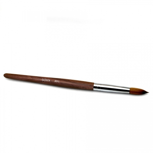 Kolinsky Sable Red Wood Nail Art Pointed Brush 14# 430025