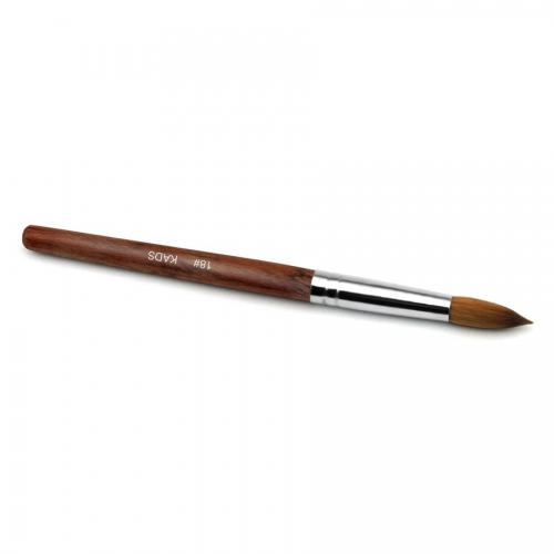 Kolinsky Sable Red Wood Nail Art Pointed Brush 18# 430027