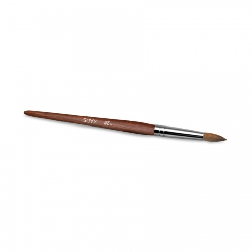 Kolinsky Sable Red Wood Nail Art Pointed Brush 12# 430024