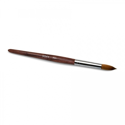 Kolinsky Sable Red Wood Nail Art Pointed Brush 16# 430026