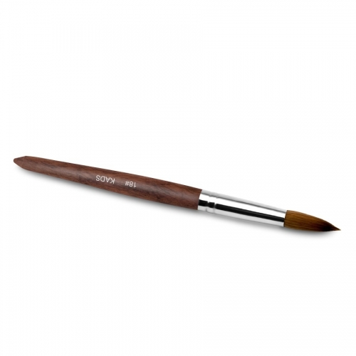 Kolinsky Sable Red Wood Nail Art Pointed Brush 20# 430028