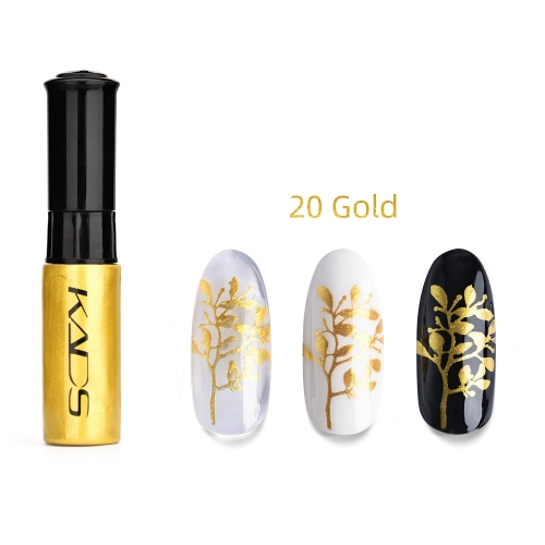 Nail Stamp Polish 10ml Gold