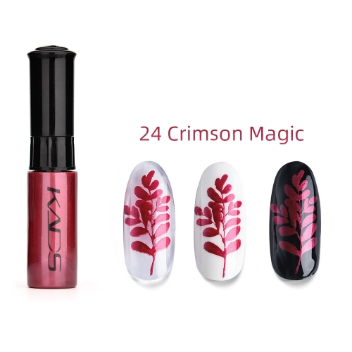 Nail Stamp Polish 10ml Crimson