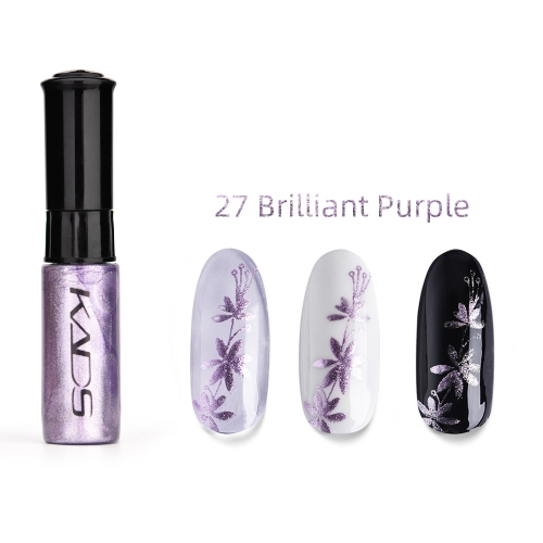 Nail Stamp Polish 10ml Pearl Purple