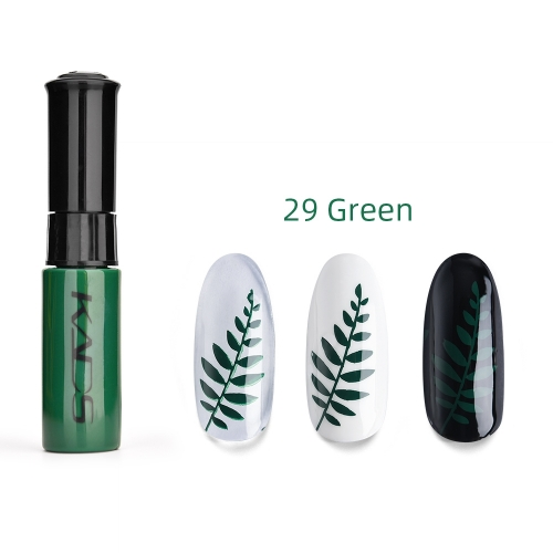 Nail Stamp Polish 10ml Deep Green