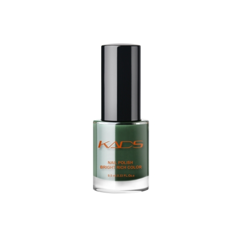 Dark Olive Green Crystal Translucent Nail Polish 9.5ml