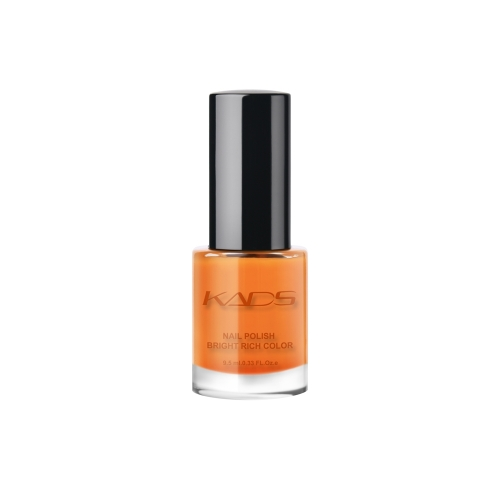 Layers Gradually Crystal Translucent Nail Polish 9.5ml Light Orange