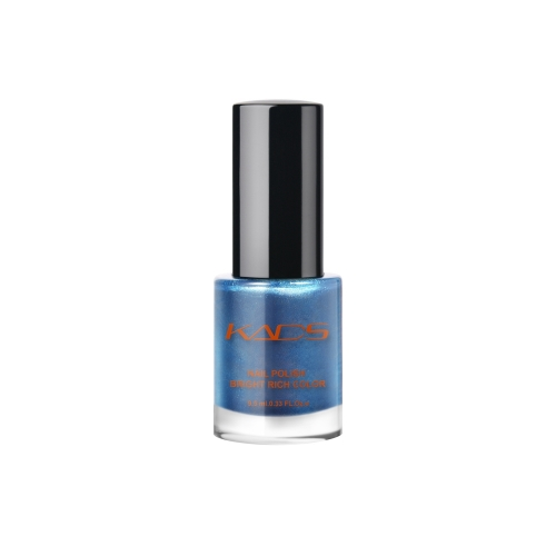 Nail Stamp Polish 9.5ml Metallic Cerulean Blue