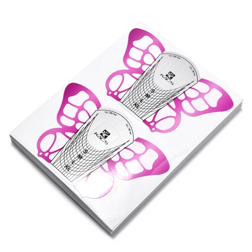 Nail Extension Forms Butterfly 410044