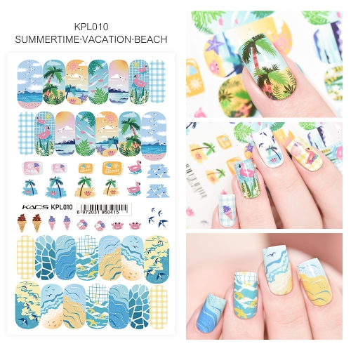 Water Transfer Nail Sticker Summer & Vacation & Beach