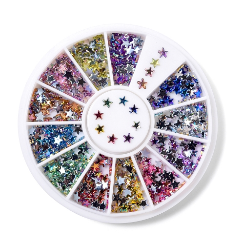 Star Nail Rhinestone 600Pcs/Box 12 Colors 200001