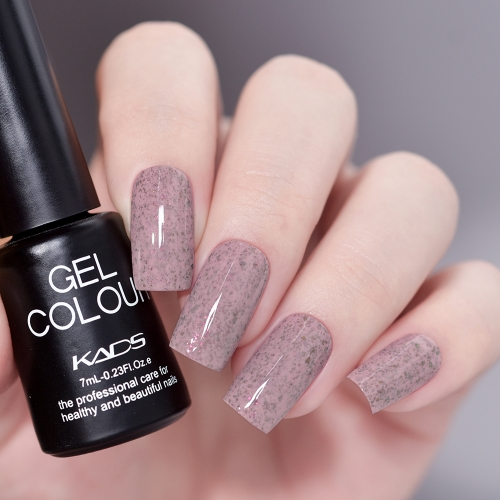 Flake Gel Nail Polish Orchid