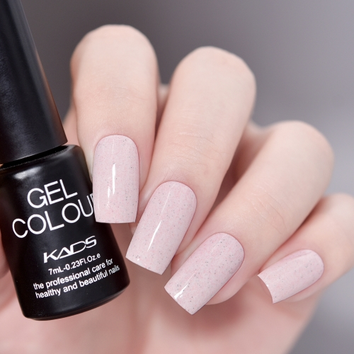 Sand Gel Nail Polish Flesh Pink
