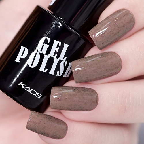 Flake Gel Nail Polish Brown