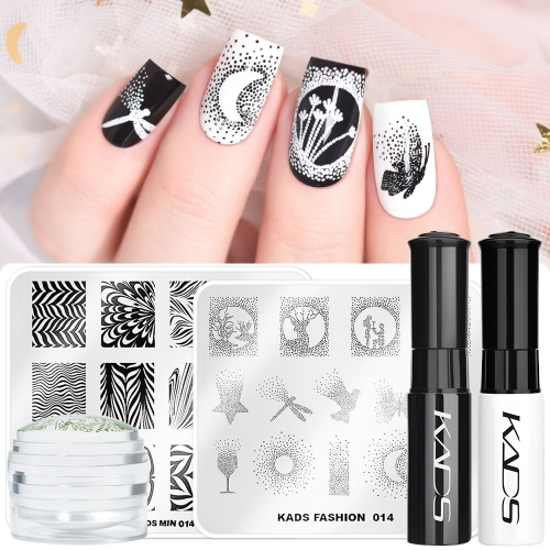 Nail Art Beginner Stamping Kit