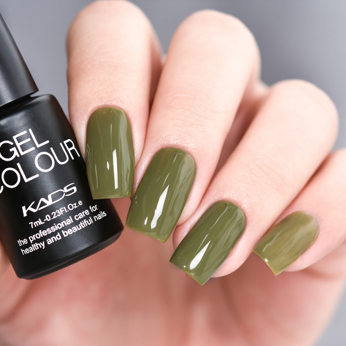 Gel Nail Polish Army Green