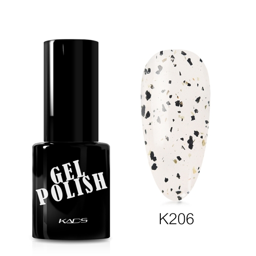 Eggshell Top Coat Gel Nail Polish